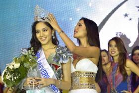 GROWTH: Miss Universe Singapore 2013 winner Shi Lim says taking part in the competition made her stronger.