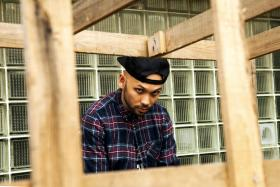 Local hip hop singer Kevin Lester, popularly known as The Lion City Boy (TLCB)