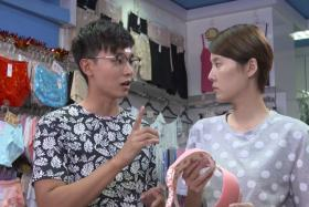 NEW ROLE: Aloysius Pang as a lingerie designer in The Gentlemen.