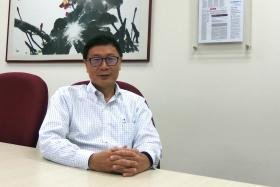 SUPPORTS AMD: Professor Chong Siow Ann signed the Advanced Medical Directive more than a decade ago, after being influenced by what he saw.