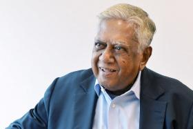 Mr S R Nathan, former President of Singapore has been warded in Singapore General Hospital after he suffered a stroke on Sunday morning.