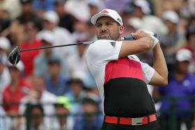 STARDUST IN SENTOSA: Sergio Garcia will be playing in Singapore for the first time since 2002.