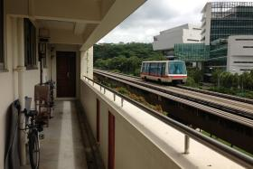 FAULTY: An antenna fault caused a train on the Bukit Panjang LRT tracks to miss three stops in an incident first documented by a commuter on Facebook last week.