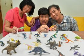 SPECIAL: Mr See Toh Sheng Jie with his mum Wendy Chua and dad Jason See Toh.
