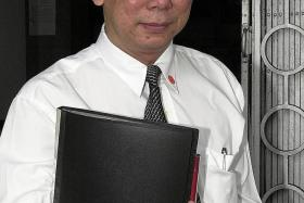 FINED: Mr Edmund Wong Sin Yee was fined $3,000, and also had to pay the Law Society $6,500 for costs incurred.