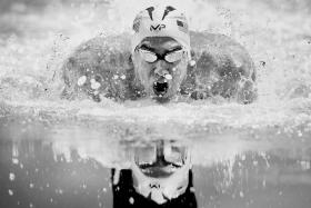 SWANSONG: The Rio Olympics will mark Michael Phelps' (above) final splash in competitive swimming.