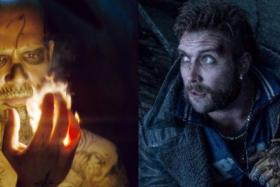 BUDDIES: Jay Hernandez (left) plays El Diablo and Jai Courtney plays Captain Boomerang in Suicide Squad.