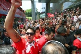 Thousands of people attended Joseph Schooling's victory parade. He rode in an open-top bus during a four-hour long victory parade which took him from his childhood stamping ground of Marine Parade to the glitzy Orchard Road shopping belt and finally to Raffles City.