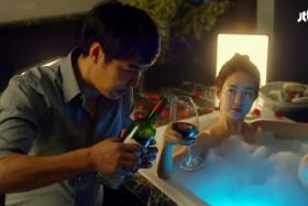 In Korean drama My Horrible Boss, Nam is played by Yoon Sang Hyun and Ok played by Lee Yo Won.