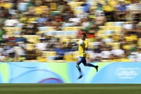 GO FOR GOLD: Brazilians will be looking to Neymar to win Brazil the elusive Olympic football title.