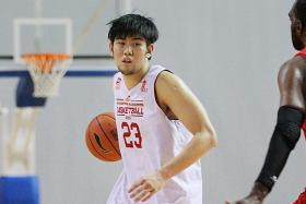 DOUBTFUL: With Delvin Goh (above) committed to Brunei's Beruang Blazers in the Yuwang East Malaysia Basketball League, he is expected to miss the Merlion Cup.