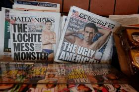 UNDER FIRE: Once a pin-up boy of swimming, Ryan Lochte has faced an avalanche of bad press (above) after lying about being mugged in Rio de Janeiro during the Olympics.