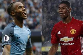 Raheem Sterling and Marcus Rashford should feature prominently in the Manchester derby.