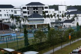 A view of Maris Stella High School from Bartley Road.
