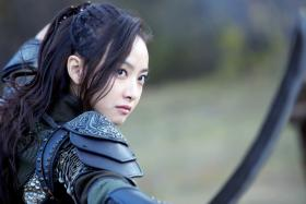 K-pop singer and Chinese actress Victoria Song as powerful sorceress Li Luo in new TV drama Ice Fantasy.