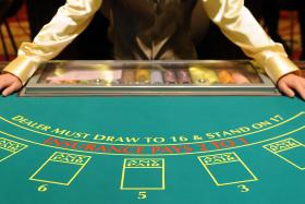 WHEELER DEALER: A dealer from Marina Bay Sands casino is in court for cheating offences.