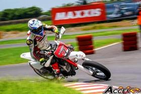 DETERMINED: Mr Hasroy Osman (above) is competing in the FIM Asia Supermoto Championship today.