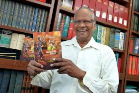 EXPERIENCED: Criminal lawyer M. N. Swami, who has about 50 years' experience at the Bar, is releasing his memoirs, titled About Kings, Killers and Justice, on Sept 11.