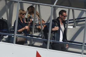 SWIFT AND SHORT: Tom Hiddleston and Taylor Swift hooked up just weeks after she split with Scottish singer-producer Calvin Harris in June.
