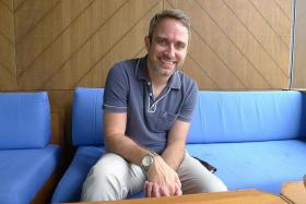 GUEST: US comic book writer Nick Spencer is in town for this weekend's Singapore Toy, Game & Comic Convention.