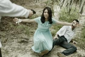 COLOURFUL: Cheryl Wee in local film My Love Sinema, set in the 1950s.