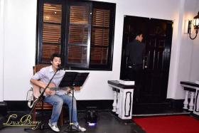 Music will be provided by busker Goh Yu Fan Evan
