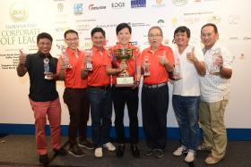 Team SunMoon continued their winning ways at the 2016 Business Times Corporate Golf League held at the Tanah Merah Country Club on 16 September 2016.