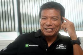 ON TRACK: Sepang International Circuit CEO Razlan Razali.
