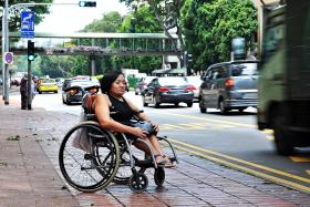 ATTEMPT: About 15 years ago, Miss Serene Ho tried to kill herself by throwing herself into traffic.