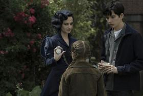 PROMISING: (From left) Eva Green and Asa Butterfield in Miss Peregrine's Home For Peculiar Children.