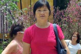 HEARTBROKEN: Madam Ang Liu Kiow's family members have to decide in two days whether to take her off life support.