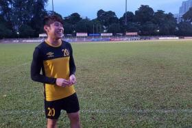 """""""But I didn't want to give up on my career, because I'm still young and the support from my family, friends and coaches really helped me come back stronger."""" -  Balestier's Ho Wai Loon"""