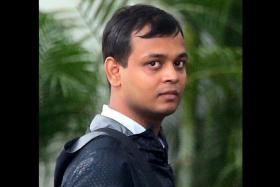 ACCUSED: Rakesh is alleged to have molested a woman in April last year.