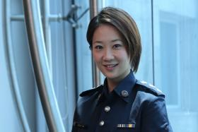 Superintendent Jessica Ang, 30s, is a regular host on Crimewatch and a seasoned cameo in C.L.I.F. 2, 3 and 4.