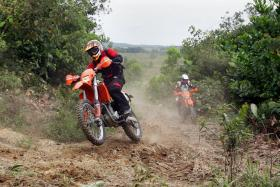 It's going to be one hard enduro and certainly not your typical Sunday trail ride, says Mr Benny Sriphet, who is clerk of course for this weekend's Harimau Kumbang Hard Enduro in Gelang Patah, Johor.