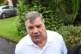 """""""The easy decision was actually to keep him and tough it out. I do feel let down because I genuinely think for football reasons he was a really good choice and just what we needed after the Euros."""" — FA chief executive Martin Glenn on Sam Allardyce (above)"""
