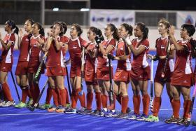 FINE-TUNING: Next up for the Singapore women's hockey team is the World League 2 early next year, says coach David Viner.