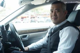 Mr Admen Lim joined ComfortDelGro as a LimoCab driver nearly two years ago.