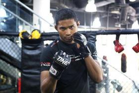 Mixed martial arts fighter Amir Khan