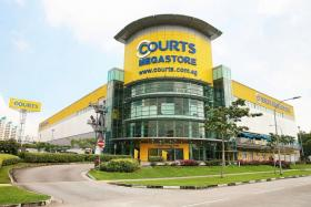 PROMOTIONS: The Courts Megastore (above) and Giant Hypermarket at Tampines Retail Park will have offers till Nov 2.