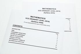 MISTAKE: (Above) The students took the paper with syllabus code 4048 instead of 4016.