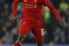 Daniel Sturridge's (above) opener was his third goal in just 35 minutes of League Cup action this season. In contrast, he has not netted in the Premier League since April 23.