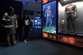 The Marvel's S.T.A.T.I.O.N exhibition will be on till March next year
