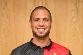 Brazilian Rafael Ramazotti has scored 41 league goals in 52 games for DPMM.