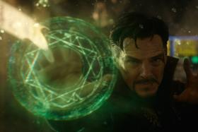 Benedict Cumberbatch plays the Sorcerer Supreme in Doctor Strange.