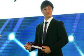 Player of the Year Atsushi Kawata.