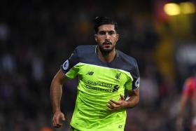 Liverpool's Emre Can.