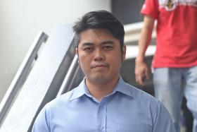 GUILTY: Bryan Lim Sian Yang was fined for posting the threatening comment.