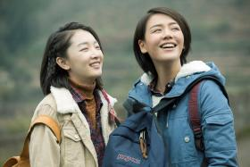 Soul Mate, starring actresses Zhou Dongyu (left) and Ma Sichun (right).
