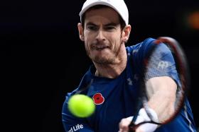TOUGH DRAW: Andy Murray has been handed a tough group, comprising rivals who have beaten him recently, if not frequently.